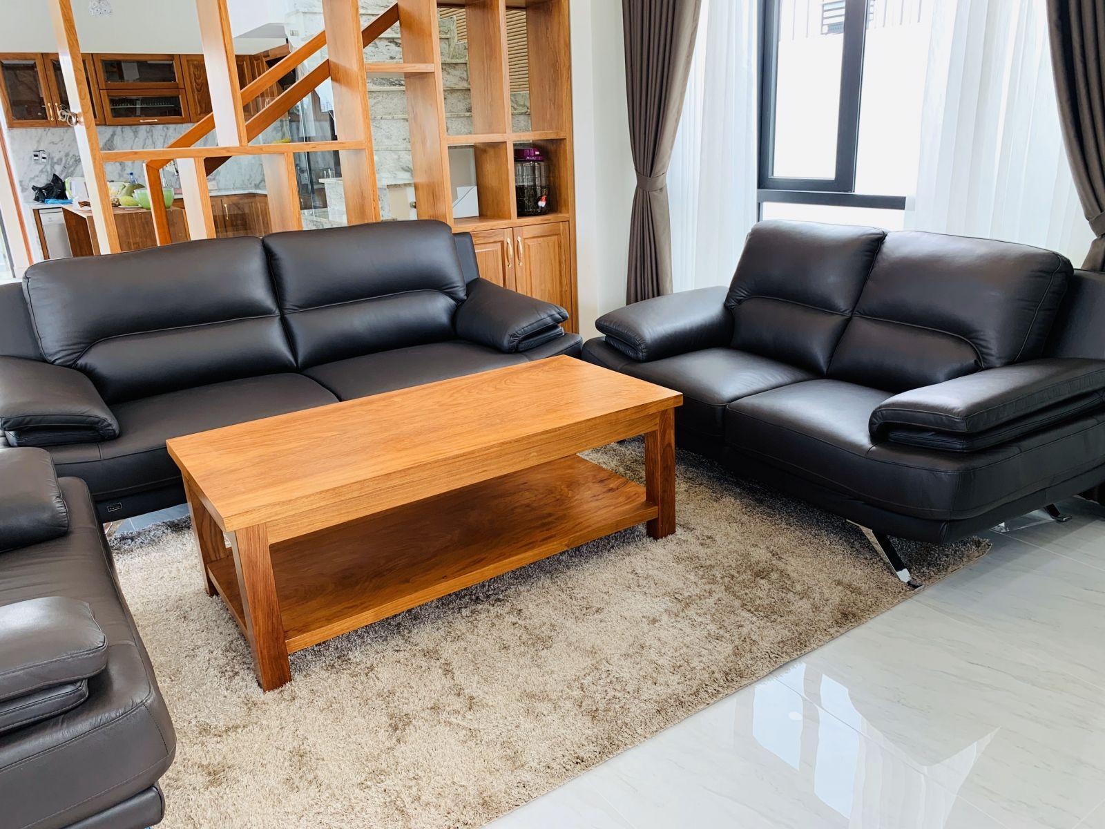 sofa da nhập khẩu chính hãng