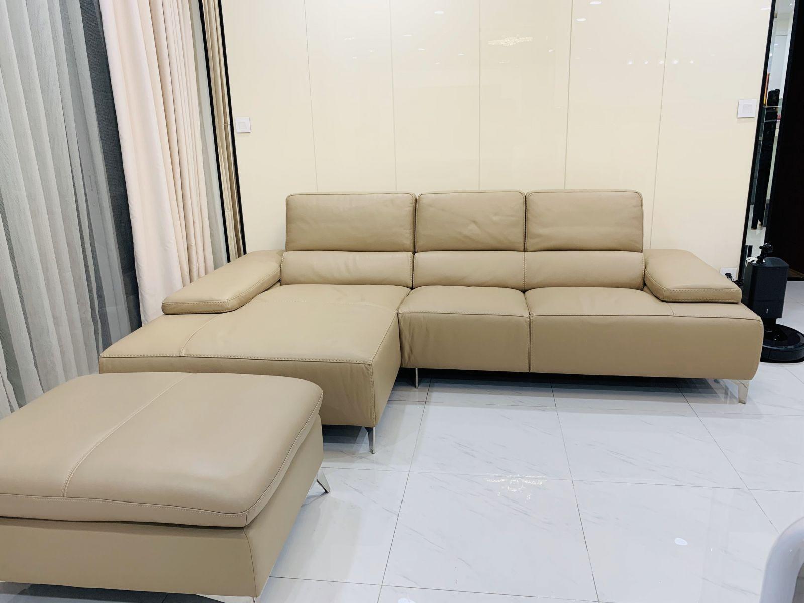 sofa da bò cao cấp tại TP.HCM