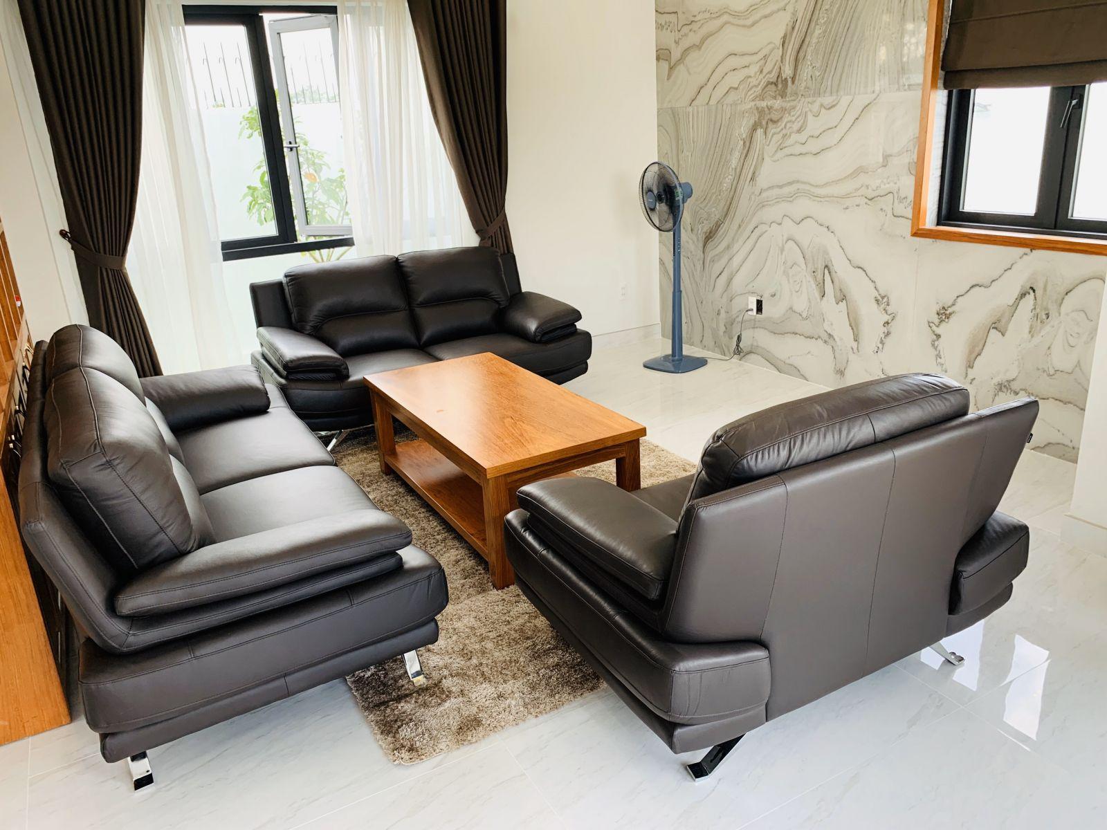 sofa da ghế 3,2,1 HC